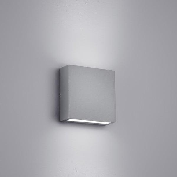 Venkovní nástěnné světlo Thames Titanium, 10 cm
