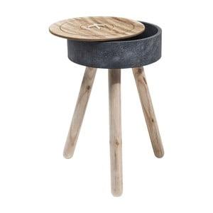 Příruční stolek s odnímatelnou deskou Kare Design Button