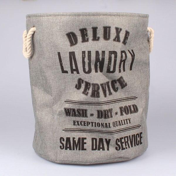 Koš na prádlo Laundry Service, šedý