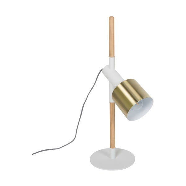 Bílá stolní lampa Zuiver Ivy