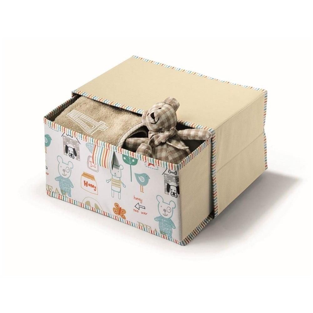 Béžový úložný box Cosatto Baby, 20 x 30 cm