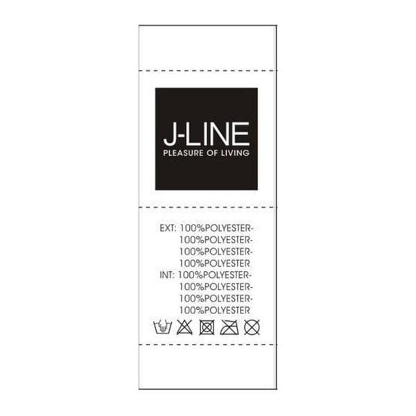 Sada 2 stříbrných flitrovaných polštářů J-Line Sequin, 40x40 cm