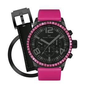 Dámské hodinky Marc Coblen s páskem a kroužkem navíc P58