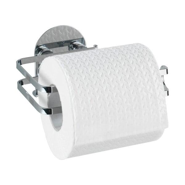 Uchwyt na papier toaletowy z przyssawką Wenko Turbo-Loc, 11x13,5 cm