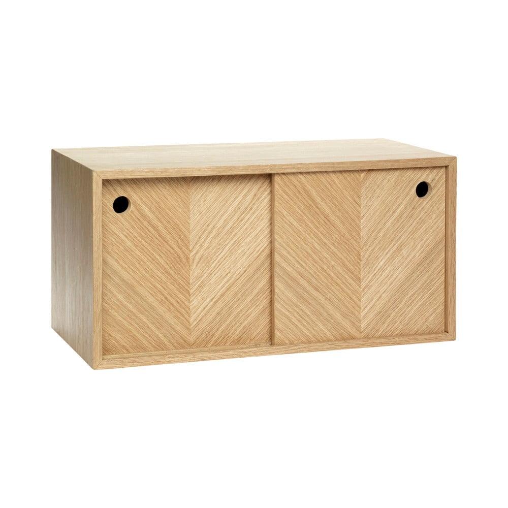 Dřevěná skříňka Hübsch Mirato, 40 x 20 cm