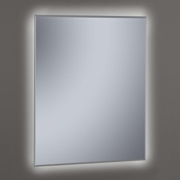 Zrcadlo s LED osvětlením Lateral, 60x80 cm