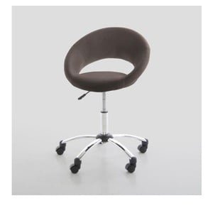 Kancelářská židle Plump, hnědá