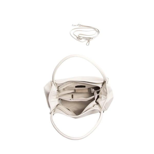 Kožená kabelka Isabella Rhea 1153, béžová