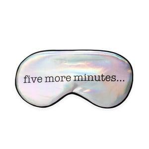 Maska na spaní Kikkerland Five Minutes
