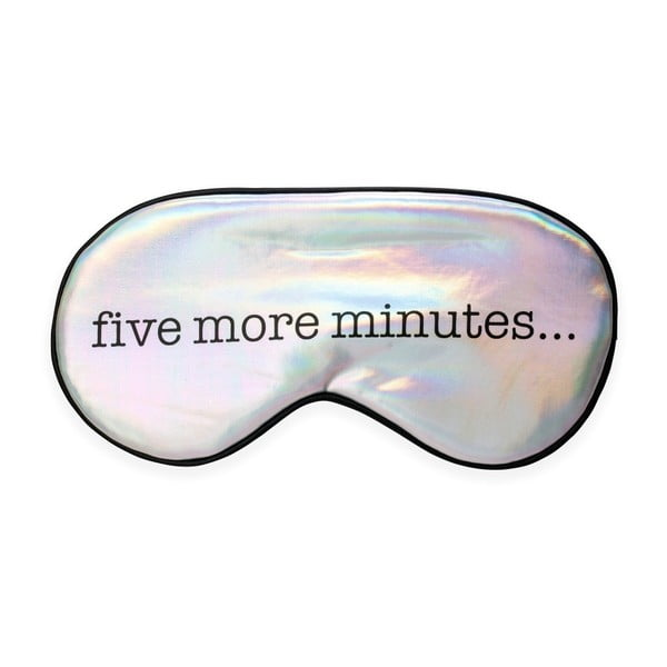 Opaska do spania na oczy Kikkerland Five Minutes