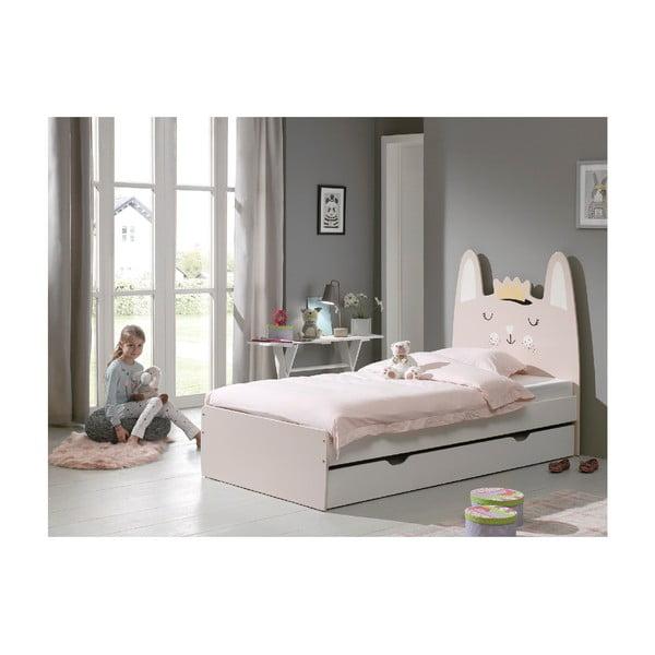 Dětská postel Vipack Rabbit, 90x200cm