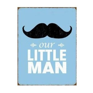 Plechová cedule Little Man 35x25 cm
