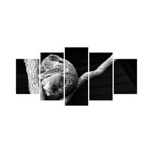 Vícedílný obraz Black&White no. 60, 100x50 cm