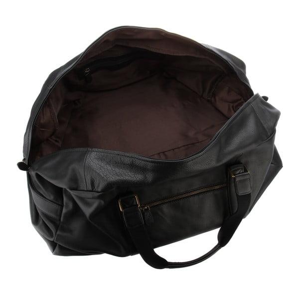 Kožená pánská taška Cargo Black