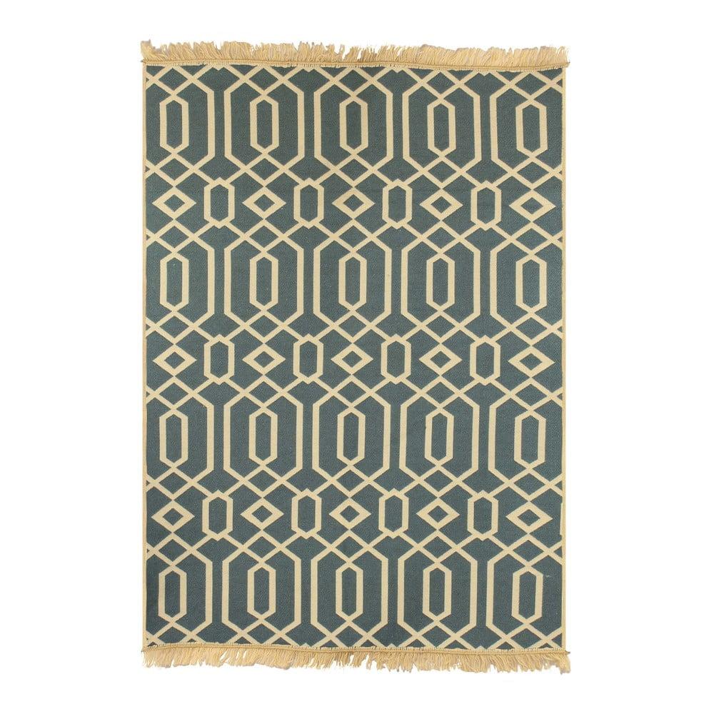 Béžovomodrý koberec Ya Rugs Kenar, 120 x 180 cm