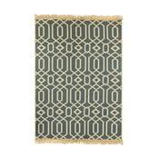 Béžovomodrý koberec Ya Rugs Kenar, 120x180cm