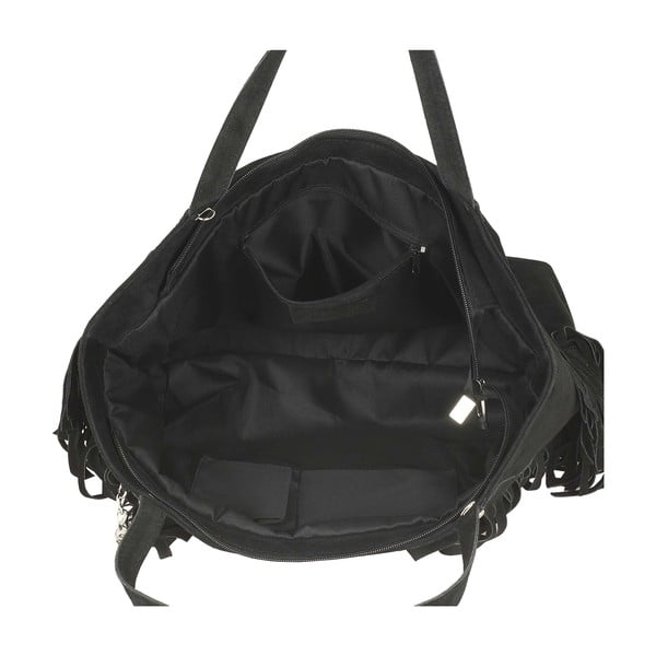 Kožená kabelka Mautte Black