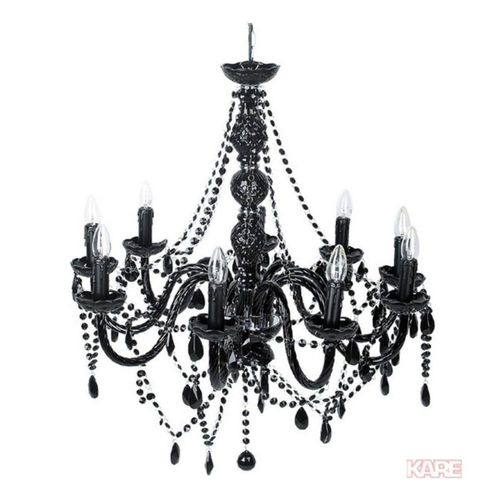 Černé stropní svítidlo Kare Design Gioiello