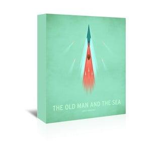 Obraz na plátně The Old Man and the Sea od Christiana Jacksona