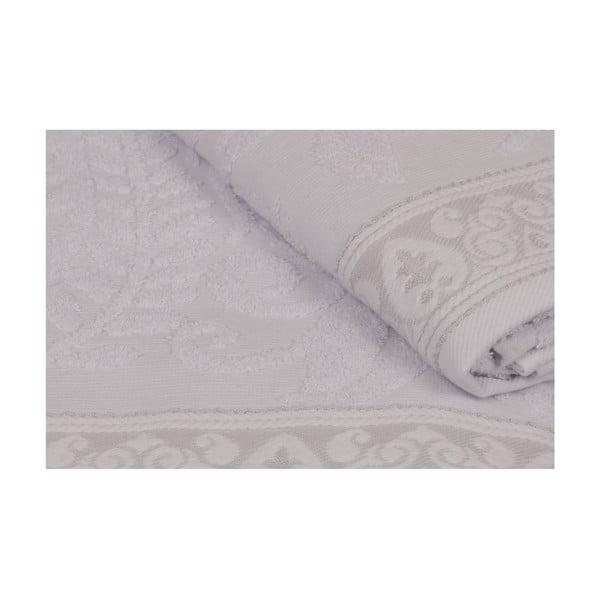 Sada 2 šedých ručníků Catherine