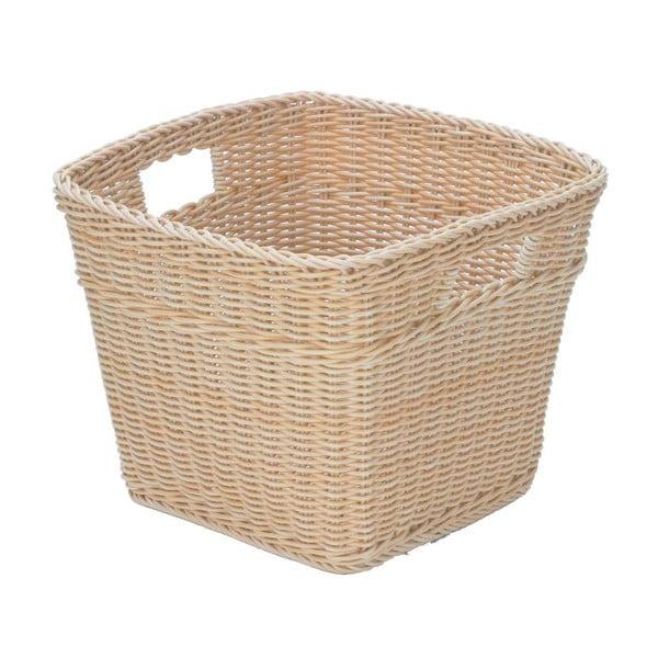 Košík Korb Beige, 39x39x28,5 cm