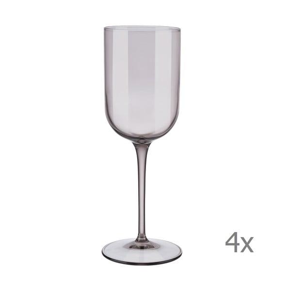 Sada 4 fialových pohárov na biele víno Blomus Mira, 280 ml