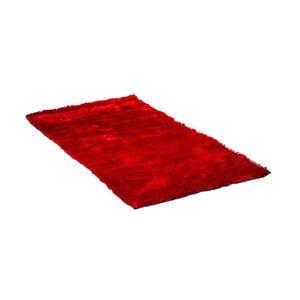 Červený koberec Cotex Lightning, 80 x 160 cm