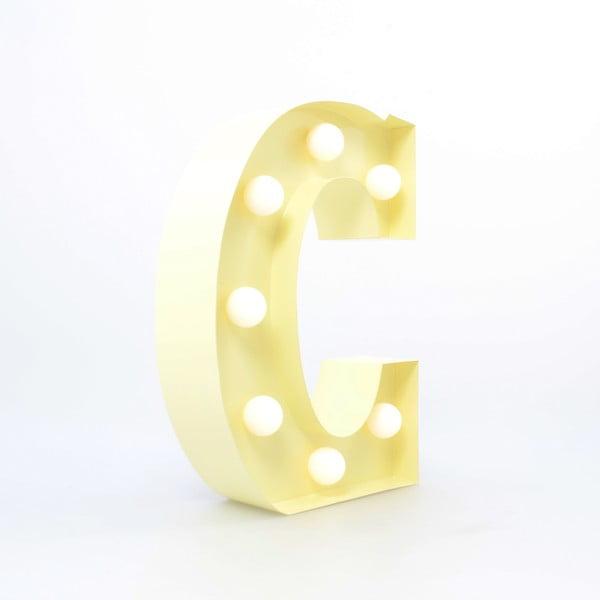 Dekorativní světlo Carnival C, vanilkové