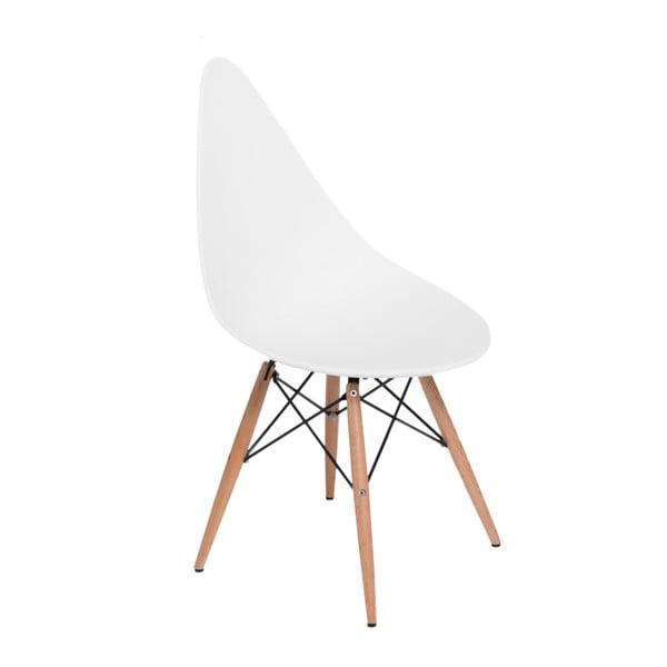 Sada 2 bílých židlí D2 Rush DWS