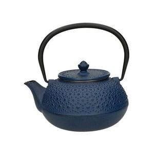 Modrá čajová konvice se sítkem Brandani Cast,650ml
