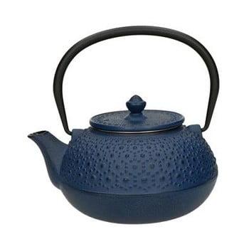 Ceainic cu sită Brandani Cast, 650 ml, albastru de la Brandani
