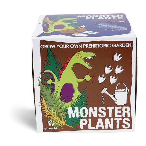 Set grădinărit Gift Republic Monster Plants