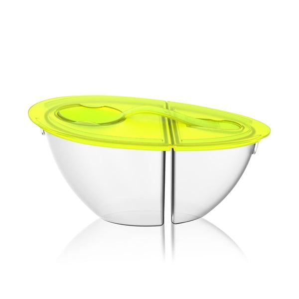 Přenosná miska na jogurt Flip N' Pour Lime