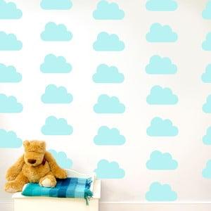 Samolepka na zeď Clouds, 70x50 cm