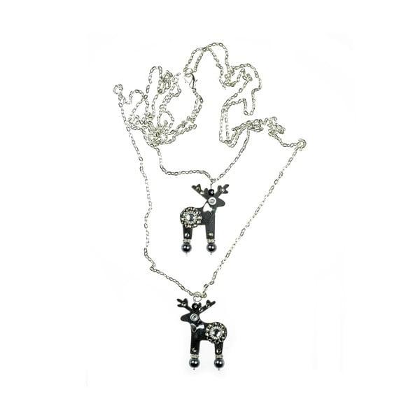 Jelení dvojitý náhrdelník Borfielli&Bafta