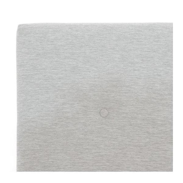 Světle šedá boxspring postel Vivonita Lando, 160x200cm