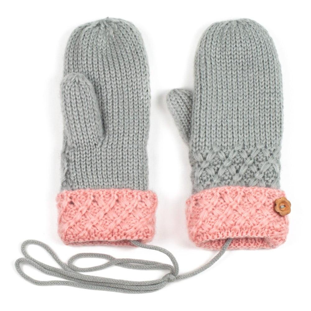 201d0943a49 Šedé dámské rukavice Art of Polo Lena