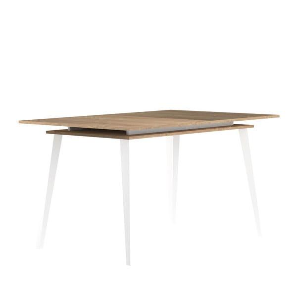 Jasnobrązowy stół rozkładany TemaHome Prism