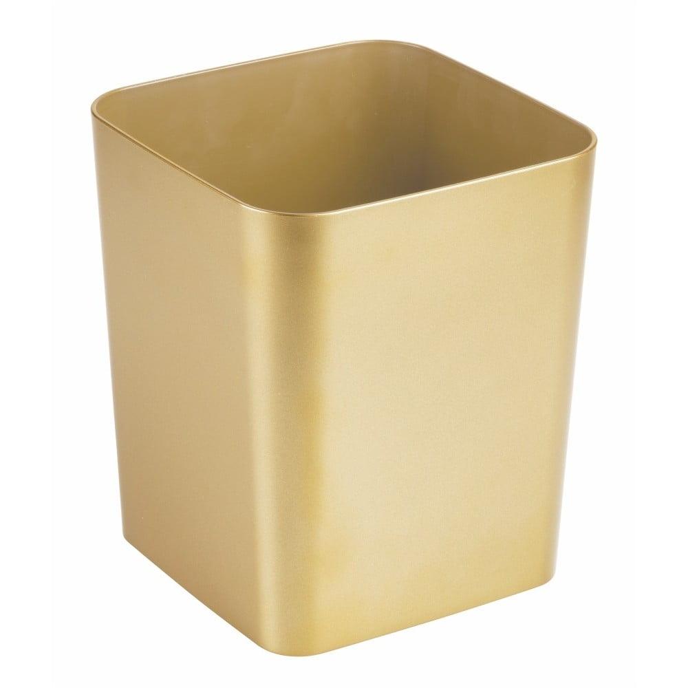 Odpadkový koš ve zlaté barvě InterDesign