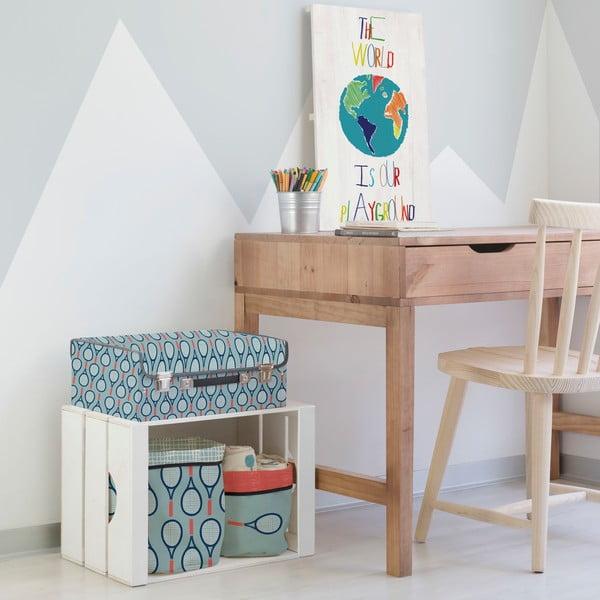 obraz na d ev little nice things playground 60 x 40 cm bonami. Black Bedroom Furniture Sets. Home Design Ideas