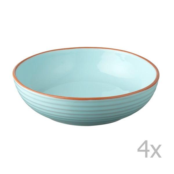 Sada 4 misek Jamie Oliver 23 cm, modrá