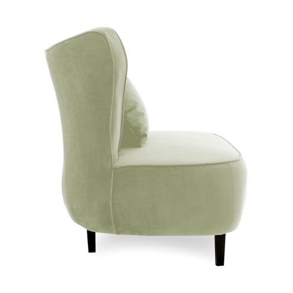 Světle zelené křeslo Vivonita Douglas Love Seat