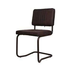 Tmavě hnědá  jídelní židle HSM Collection Delano