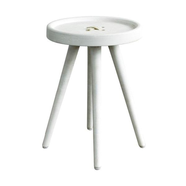 Odkládací stolek s béžovými detaily Hawke&Thorn Preston