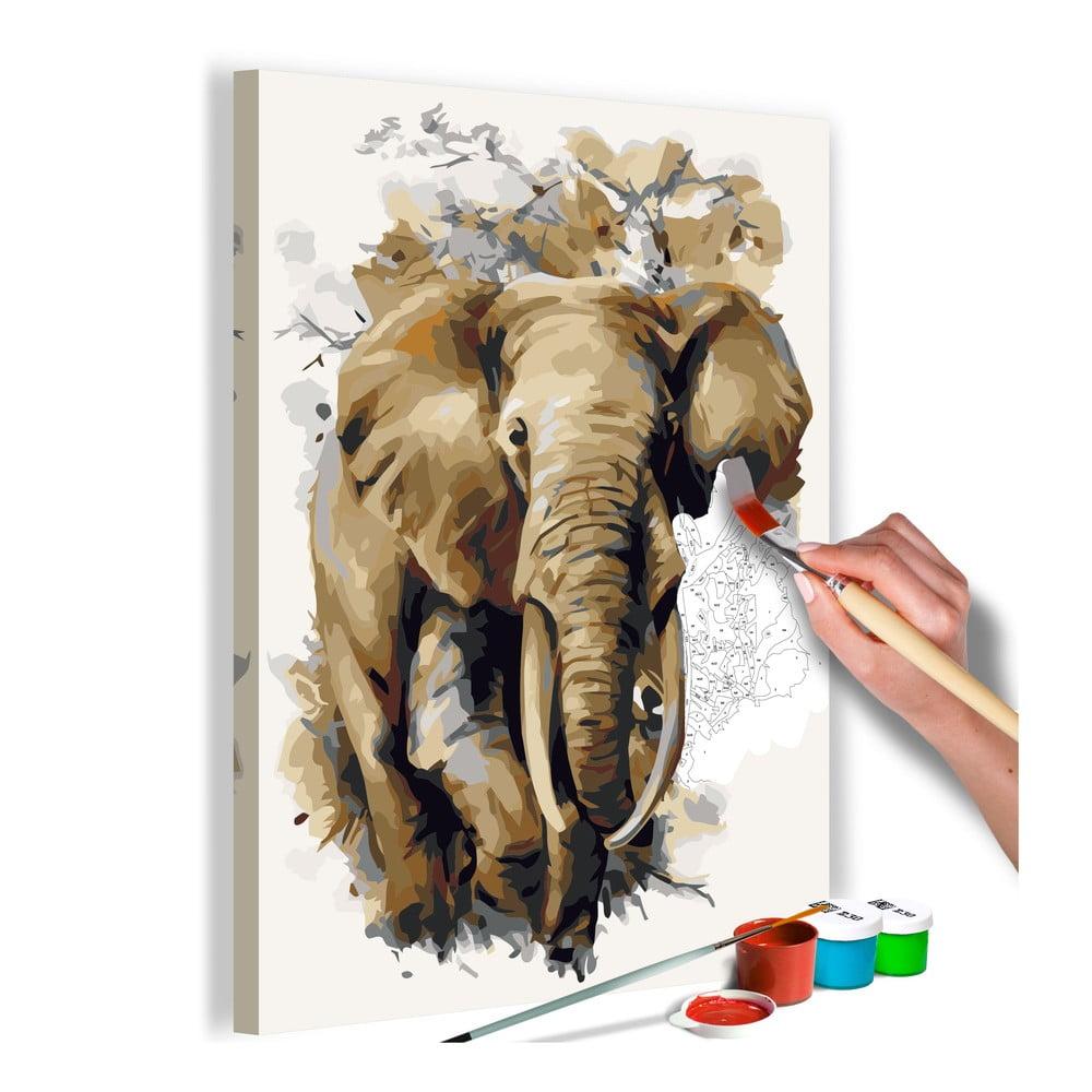 DIY set na tvorbu vlastního obrazu na plátně Artgeist Giant, 40x60 cm