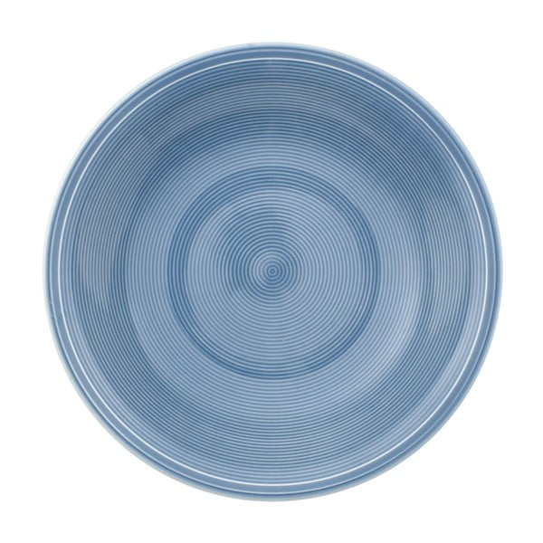 Kék porcelán mélytányér, 23,5 cm - Like by Villeroy & Boch Group