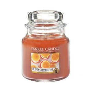Vonná svíčka Yankee Candle Klementinka s medem, doba hoření 65 - 90 hodin
