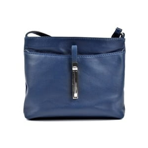 Modrá kožená kabelka Roberta M Lasmina