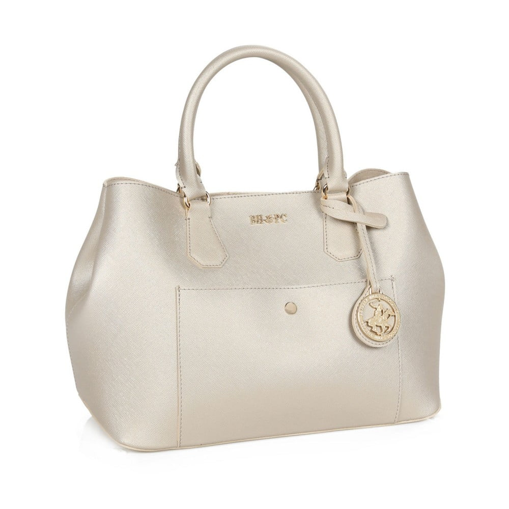... Krémová kabelka se zlatými odlesky Beverly Hills Polo Club Mona ... 13443d2924f