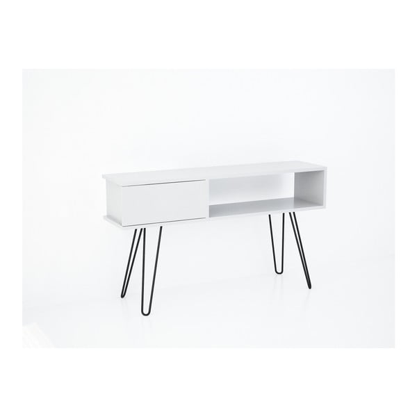 Bílý TV stolek Lara
